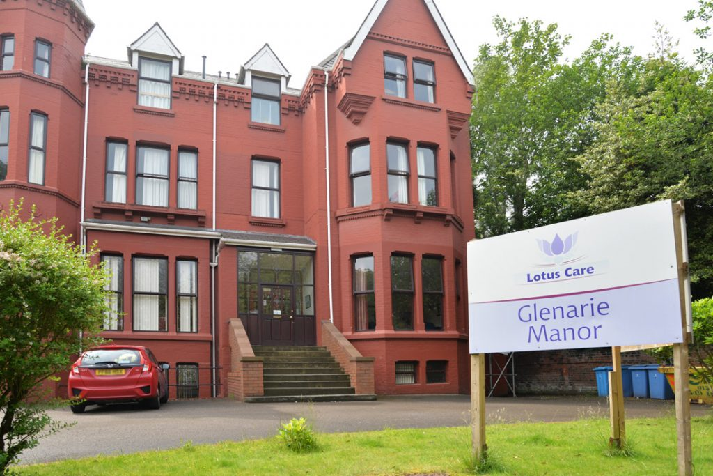 Glenarie Manor care home Sefton Park Liverpool