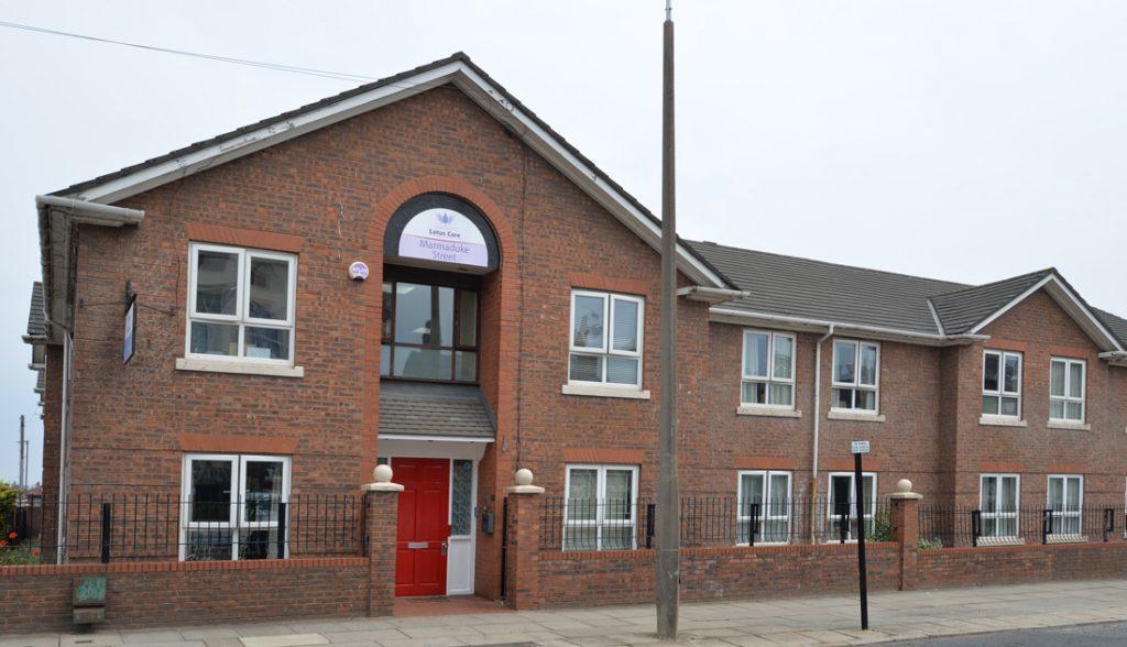 Marmaduke Street care home, Liverpool, Lotus Care