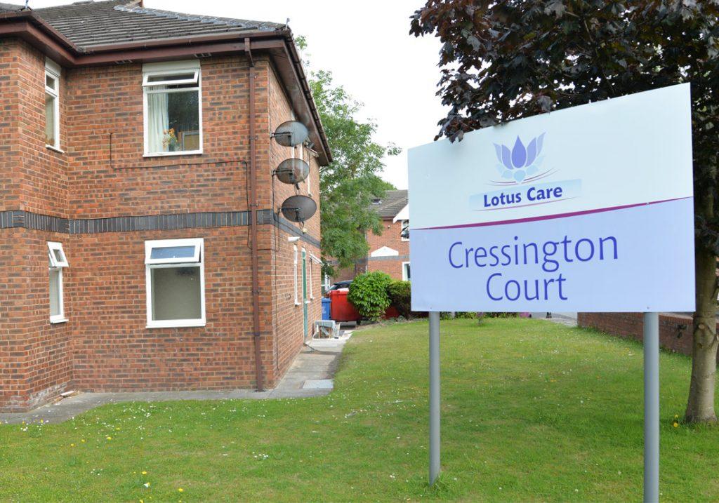 Cressington Court care home, Liverpool. Lotus Care
