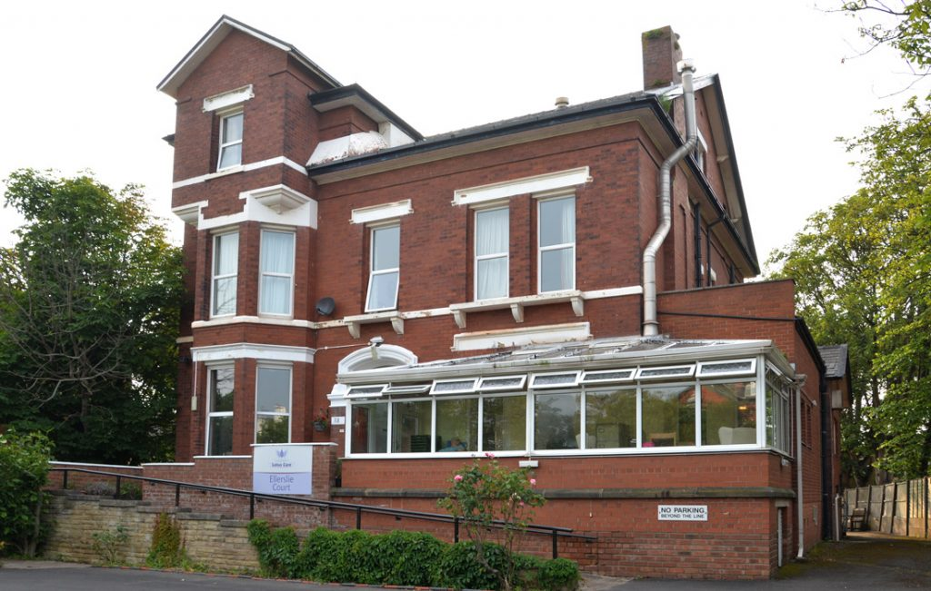 Ellerslie Court care home, Southport. Lotus Care