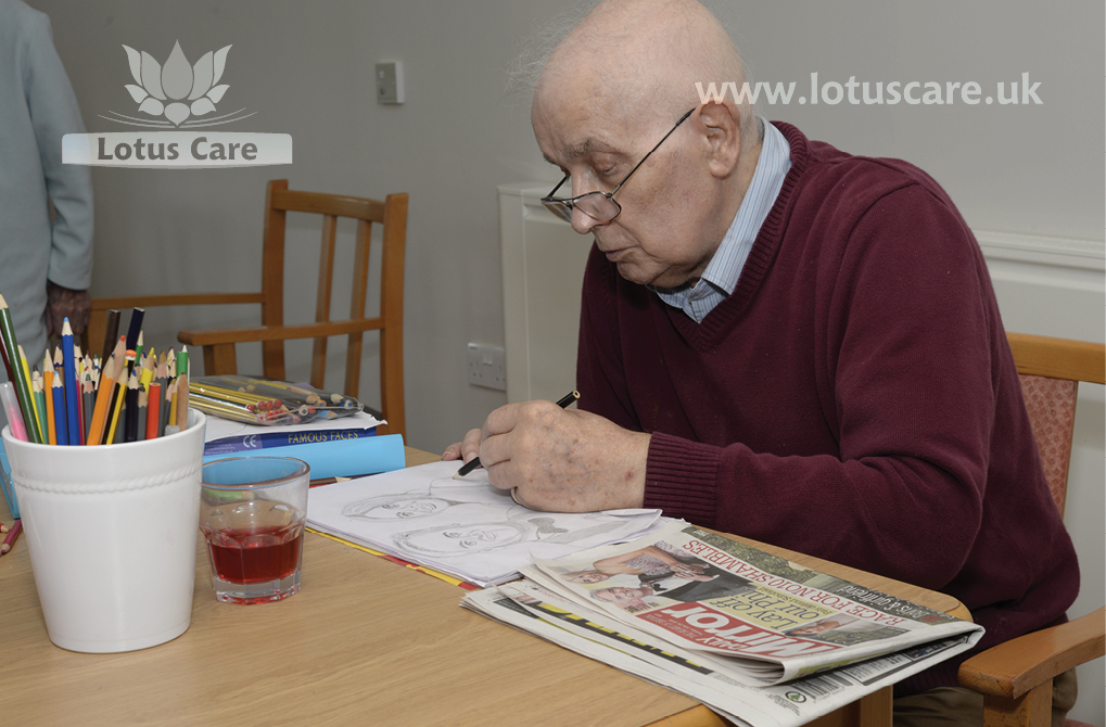 Lotus Care care home activities