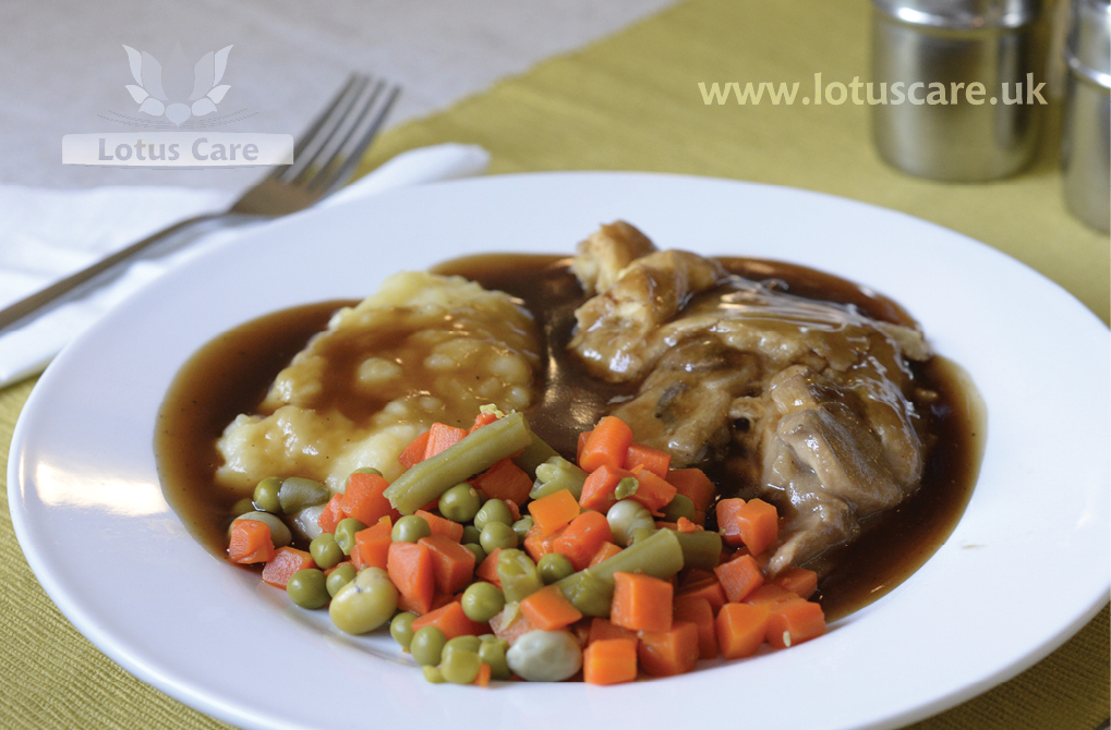 Lotus Care Homes, nutritious meals