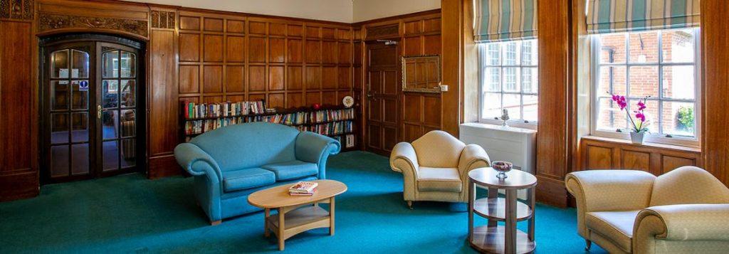 Dunollie Nursing Home in Scarborough – living area, Lotus Care