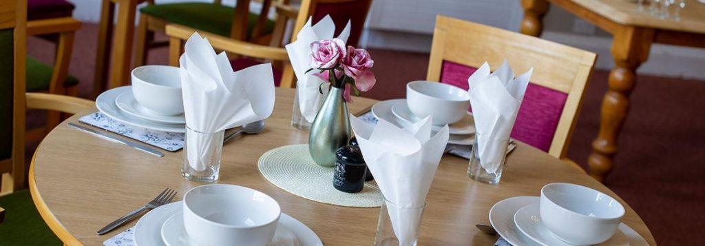 Dunollie Nursing Home – dining room, Lotus Care