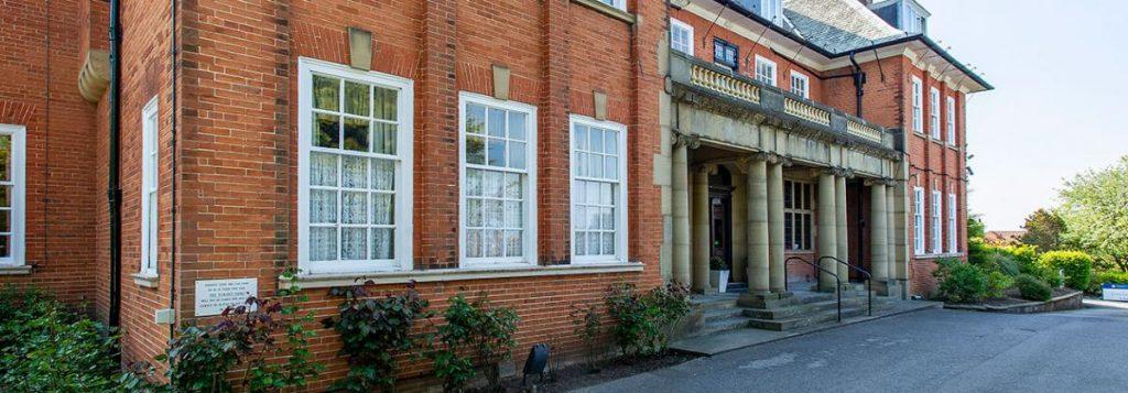 Dunollie Nursing Home in Scarborough – exterior front, Lotus Care