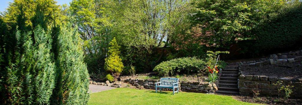 Dunollie, Scarborough – exterior garden, Lotus Care